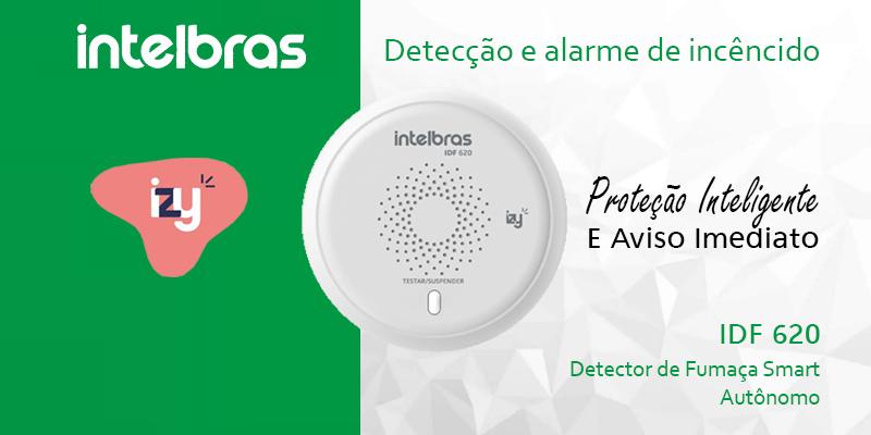 IDF 620 – Detector de Fumaça Smart