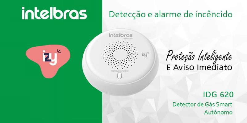 IDG 620 – Detector De gÁS Smart